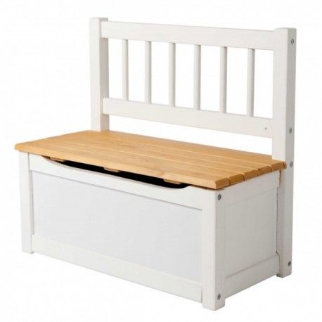Banco baul infantil cpu2005006 con asiento de madera - Baul asiento dormitorio ...