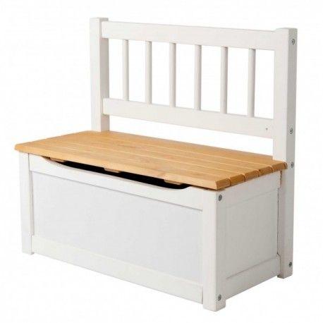 Banco baul infantil cpu2005006 con asiento de madera - Baules para exterior ...
