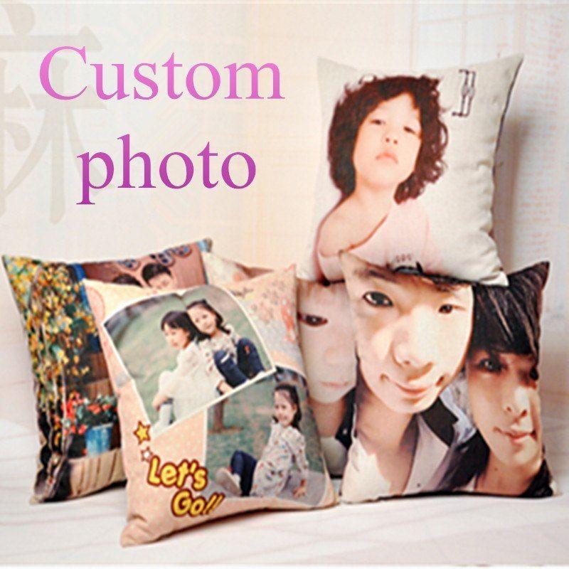 Barato Personalizar Cojin Decorativo Imprimir Tu Foto En Almohada