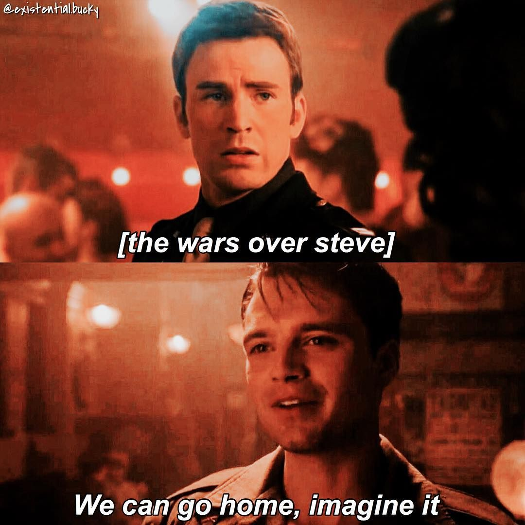 I was sad that Bucky wasn't in Steve's dream, I mean there