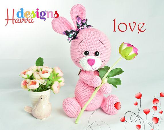 Bunny The Lovey Crochet Pattern Maskotki Pinterest Turkish