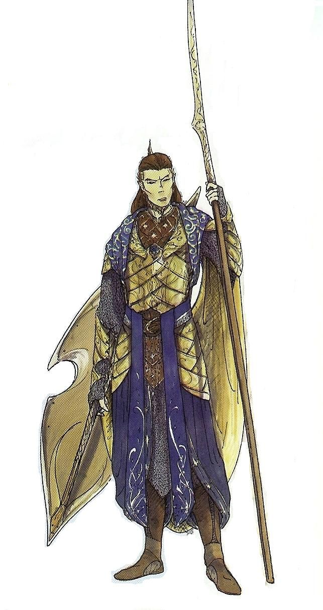 Concept Art For Elven King Gil Galad S Prologue 2nd Age