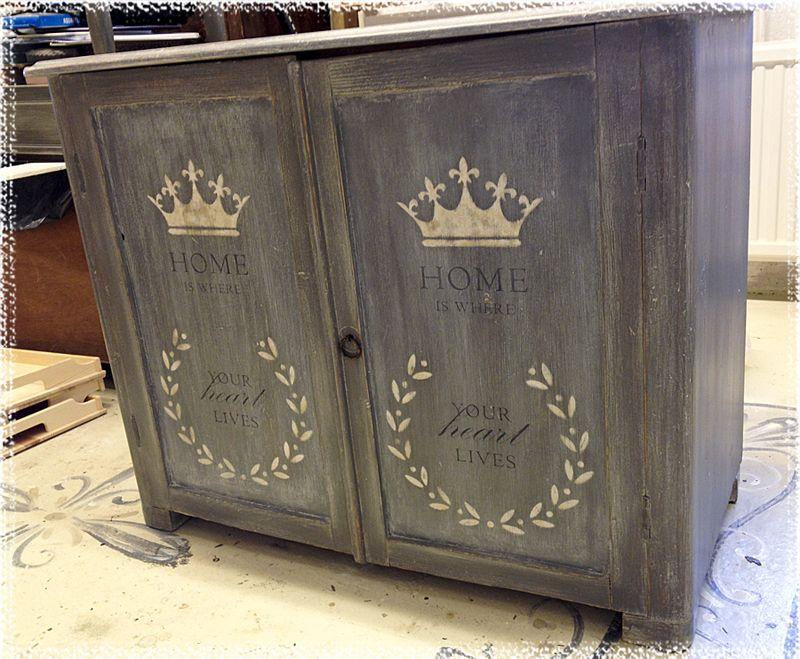 Old wood crown sideboard sk nk i gr nat tr c modas for Muebles padron