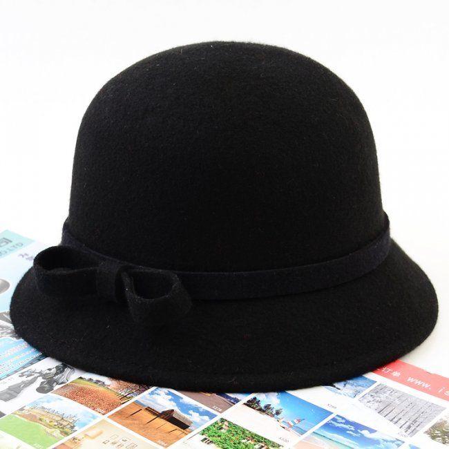 56ed56cd59 Aliexpress.com : Buy free shipping fashion wool bow decorative wool ...