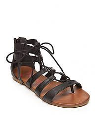 aab55f995fcc Jellypop Albany Lace Up Gladiator Sandal