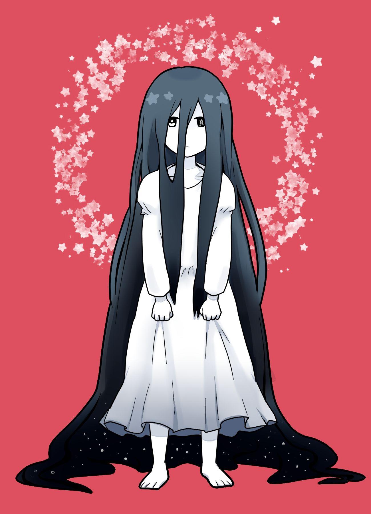 Sadako Illustration Manga Amp Anime Pinterest