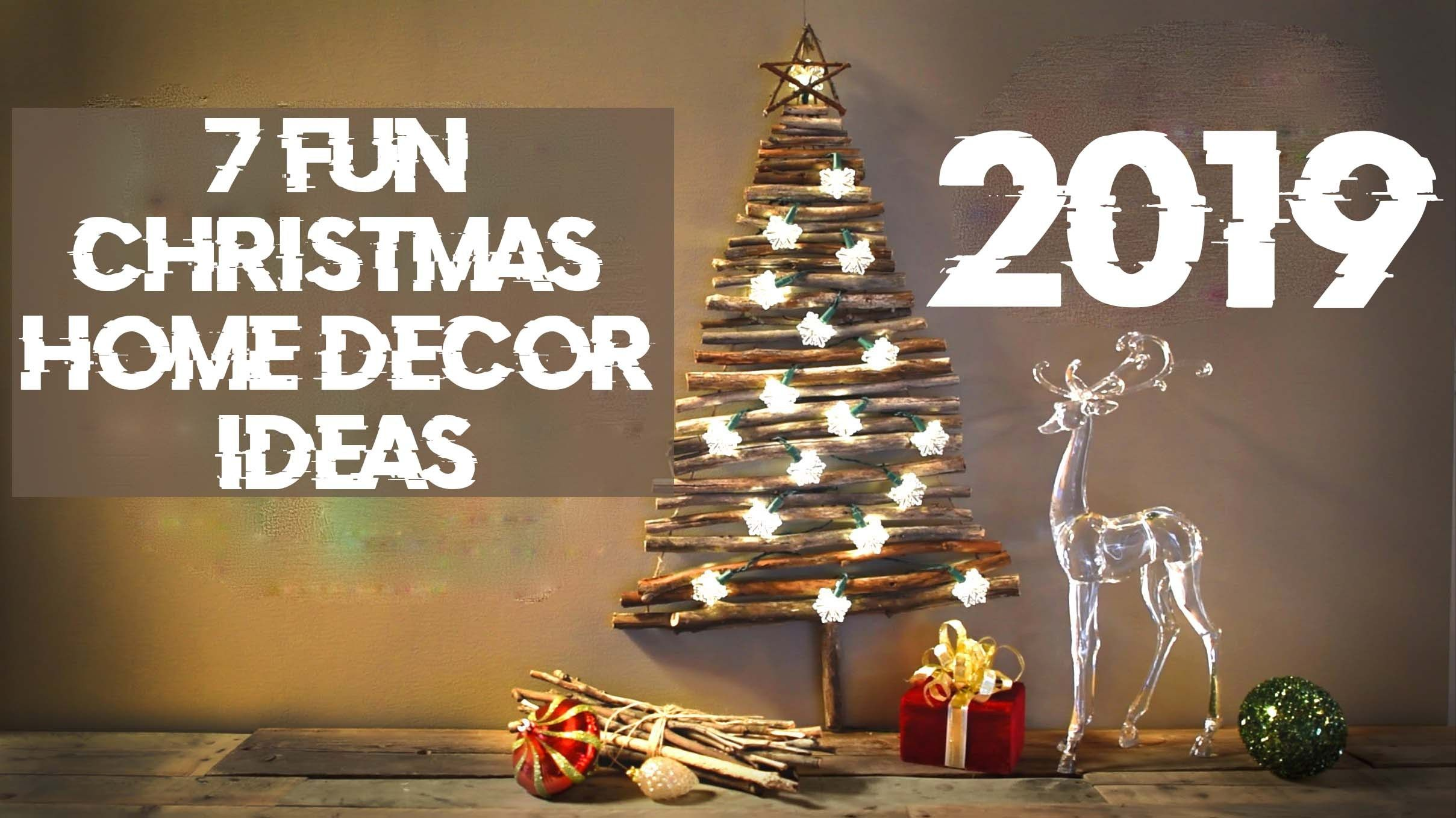 Christmas Home Decor Ideas 2019 1 Christmas Possibilities Home
