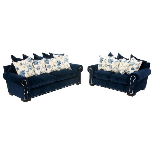 Marvelous Karla Sofa Loveseat By Jeromes Furniture Sku Rml06Sasb Gmtry Best Dining Table And Chair Ideas Images Gmtryco