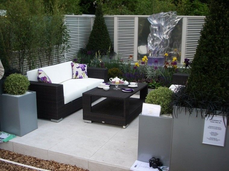 Diseño de jardines modernos - 100 ideas impactantes. | Diseño de ...