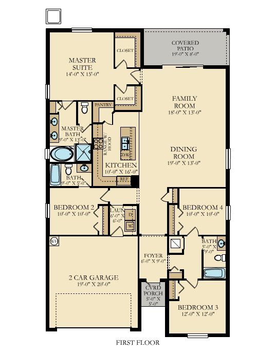 Lennar Homes Floor Plans Florida