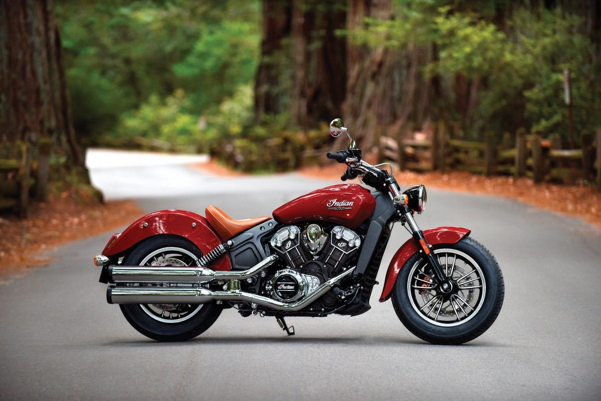 Meet indian motorcycles first model of 2016 indian chief dark - Indian Scout And Scout Sixty Premium Motorcycles For The First Time Rider