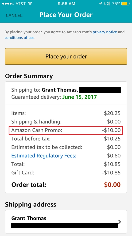 Reload Your Amazon Gift Card Balance With Amazon Cash Promo Credit Amazon Gift Cards Gift Card Balance Amazon Gift Card Free