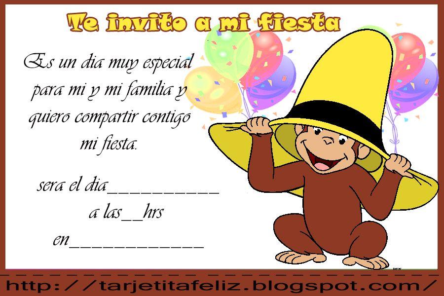 Editor De Invitaciones De Cumpleaños Para Descargar Al