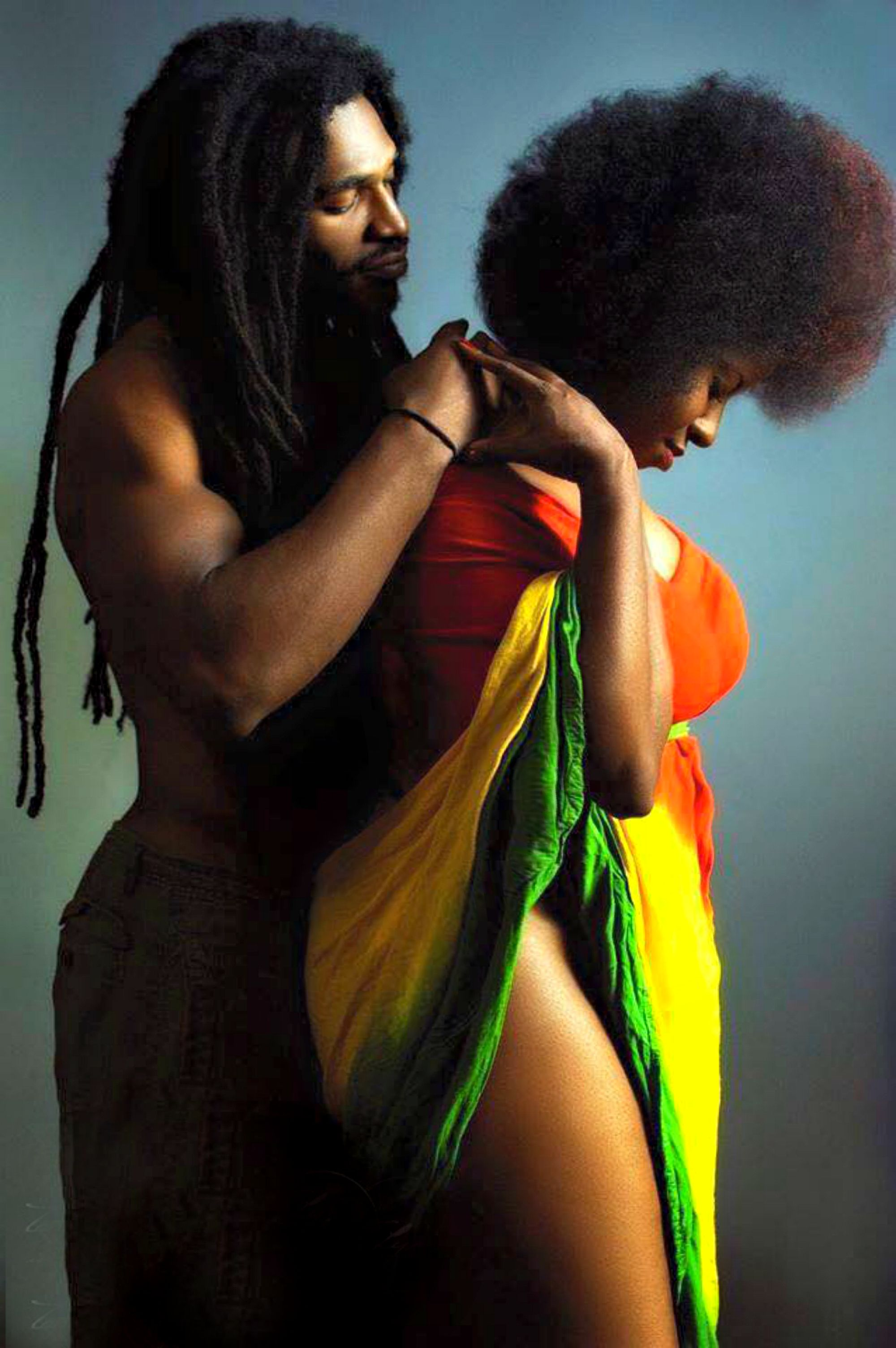 Powerful Glamorous Black Couple: FEATURE: Black Americana Photo Project