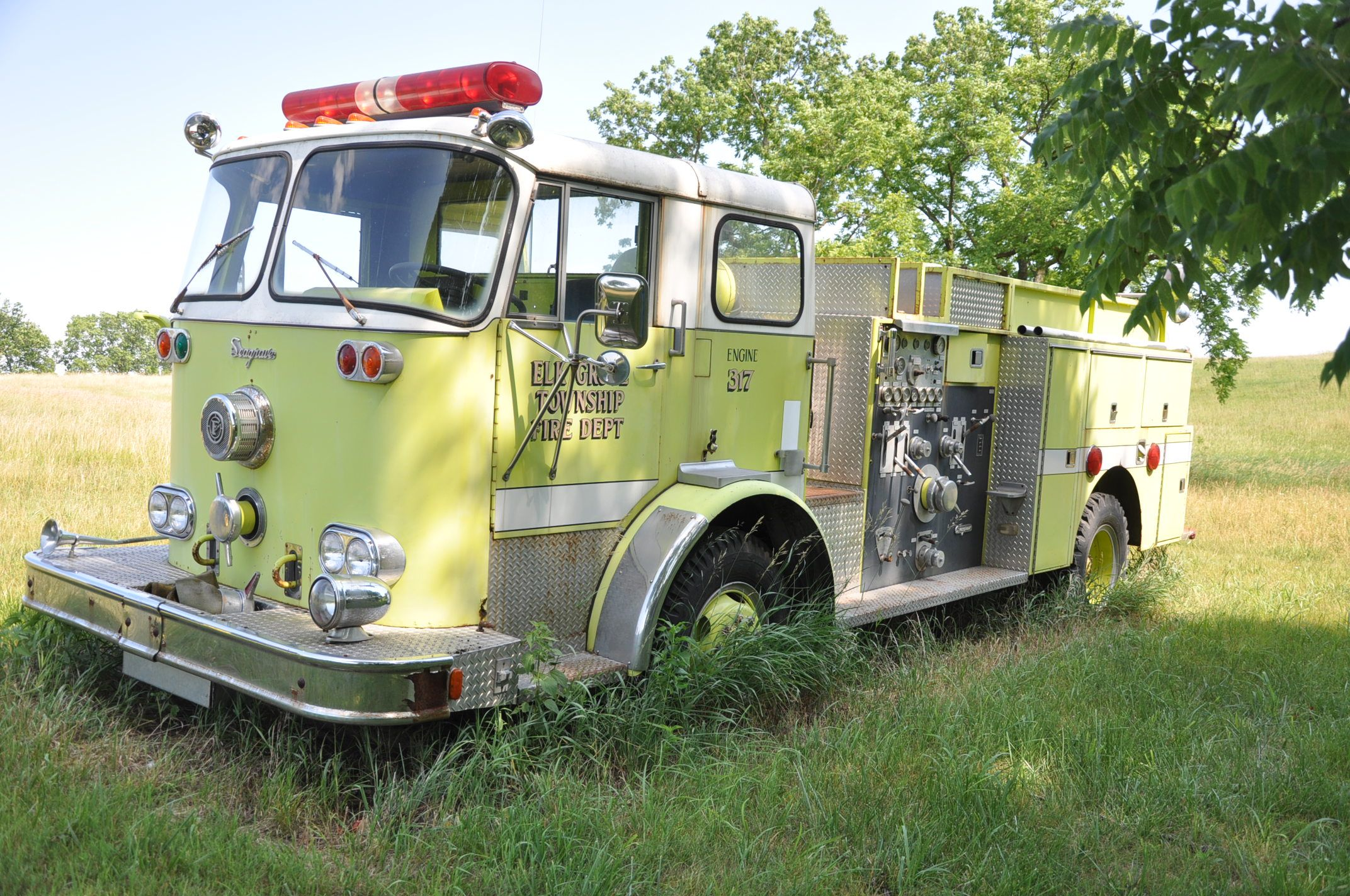 1960 Seagrave Pumper Fire truck for sale
