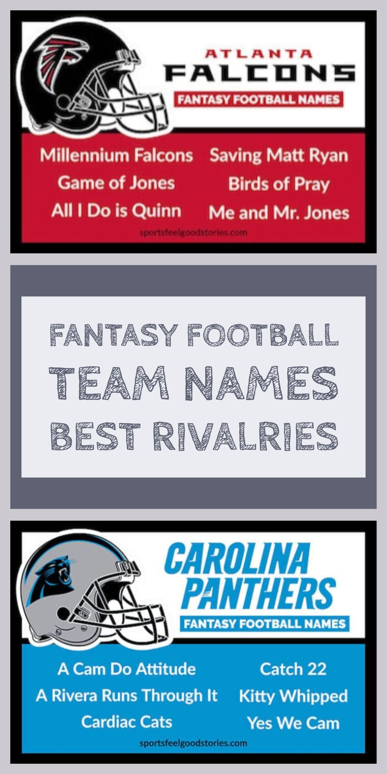 Best Fantasy Football Names Sorted By Team Sports Feel Good Stories Fantasy Football Names Football Team Names Cool Fantasy Football Names
