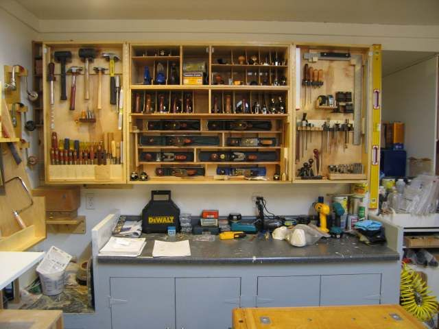 Re How Do You Like To Store Your Hand Planes Pic Garage Tool Storage Garden Tool Storage Tool Storage