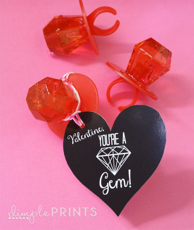 11 Adorable Free Printable Valentines- Especially For Girls | Free ...