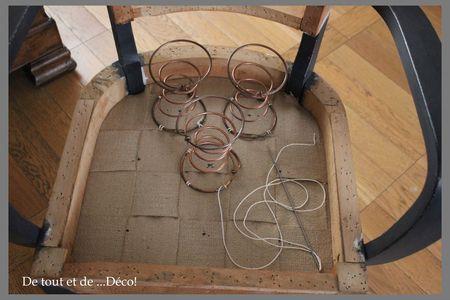 tuto pour fauteuil bridge de tout et de d co upholstery decoration and restoration. Black Bedroom Furniture Sets. Home Design Ideas