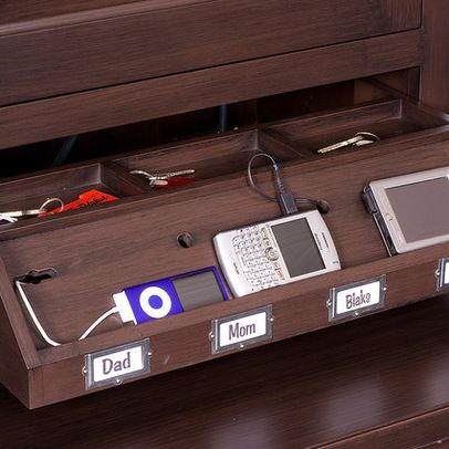 Genial Home Office Charging Station Design Ideas, Pictures, Remodel And Decor