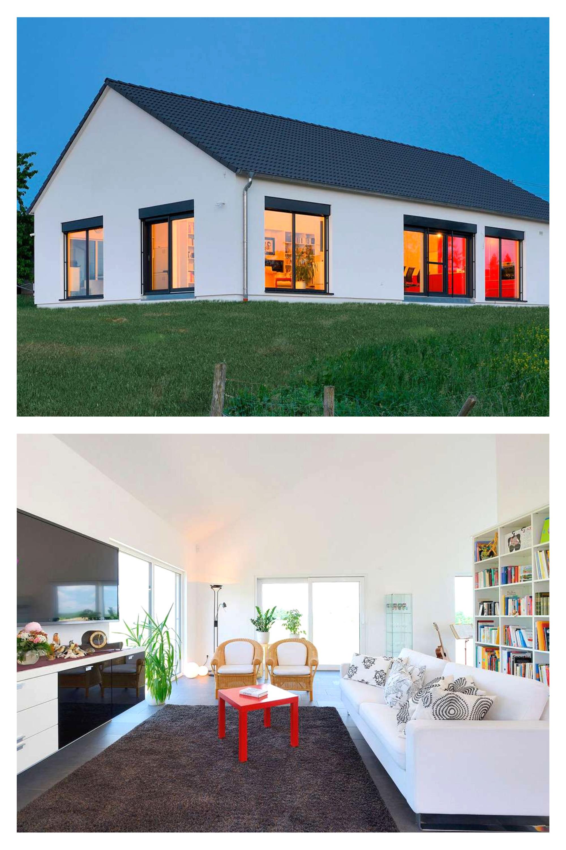 Fertighaus Weiss Haus Jager In 2020 Bungalow Kaufen Haus Haus Bungalow