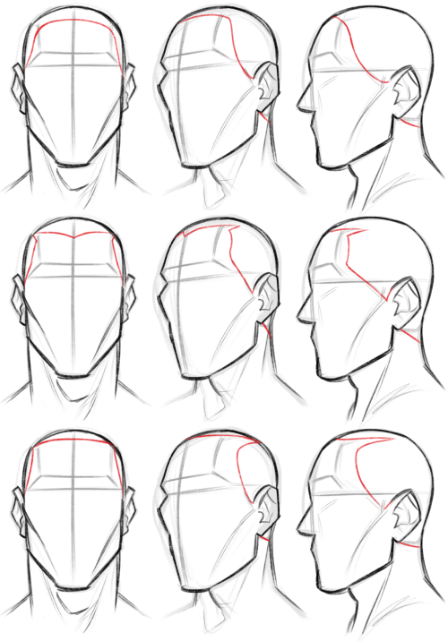 Shameless Tf2 Idiocy Drawing Tutorial Face Face Drawing Drawing Heads