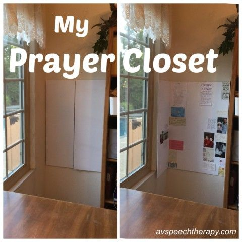 Beautiful Making A #prayercloset When You Have No Closet, Prayer Corner #warroom  #IamAChristian #konmari Prayer Closet Ideas War Room Quiet Time Prayer Wall  Spaces