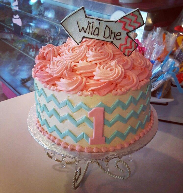 Wild one 1st birthday cake carinaedolce wwwCarinaedolcecom www