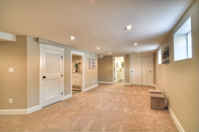 sw macadamia basement for the house pinterest basements basement painting and decorating. Black Bedroom Furniture Sets. Home Design Ideas