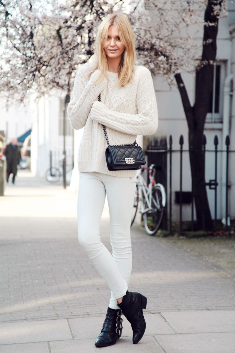 136ef07d736bc1 Style Inspiration: Chunky Winter Knits | Sweaters | How to wear ...