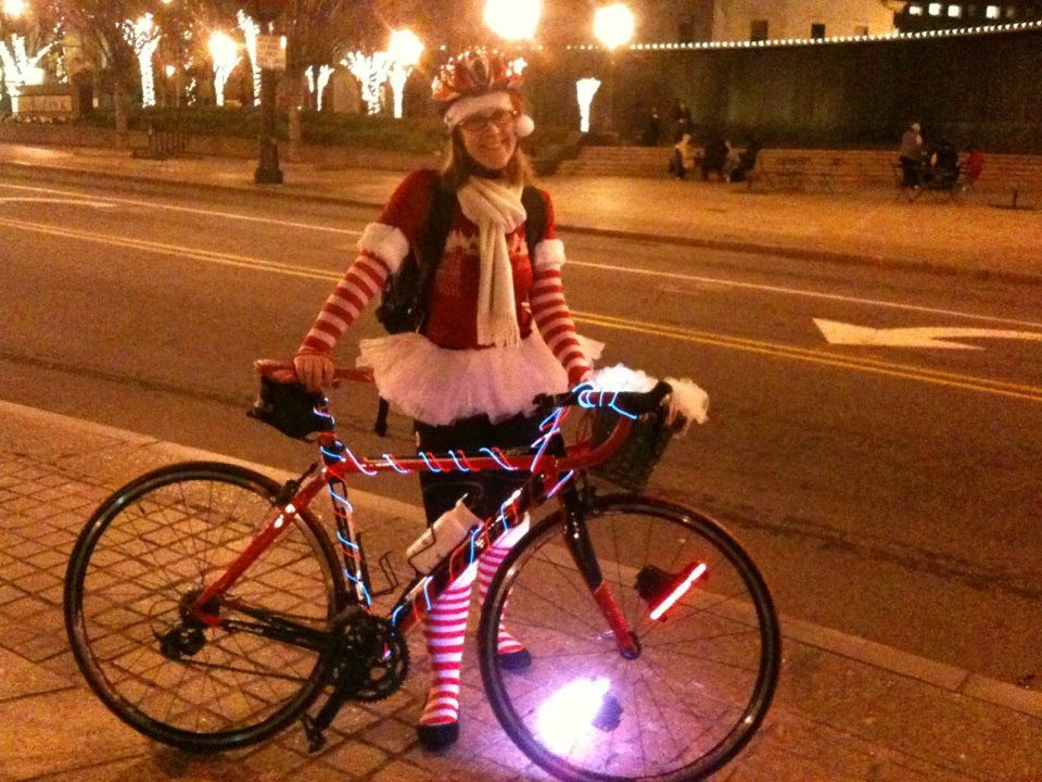 In honor of the 2nd Annual Tour de Lights, happening in 48 hours ...