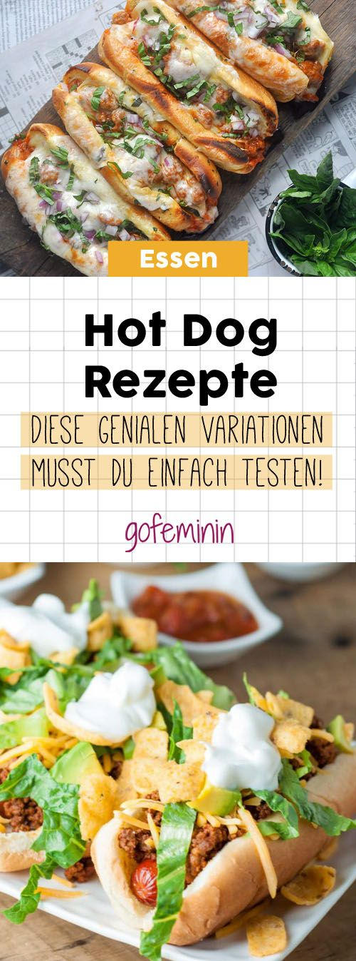 hot dog rezepte neu aufgelegt so habt ihr das fast food garantiert noch nicht gegessen hot. Black Bedroom Furniture Sets. Home Design Ideas