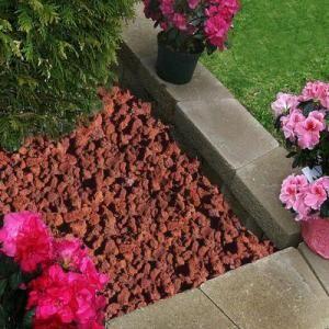Arena grava y piedra volc nica de colores lava roca lava roca para reas verdes y jardines - Grava para jardin precio ...