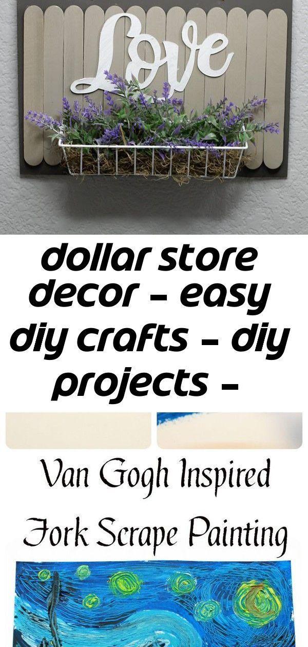 Dollar store decor  easy diy crafts  diy projects  simple decor ideas f