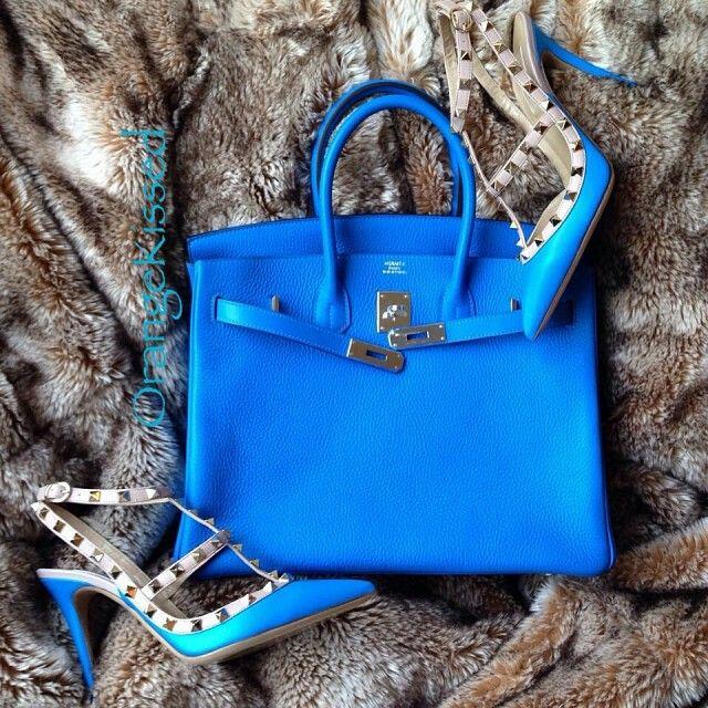 Light blue birkin