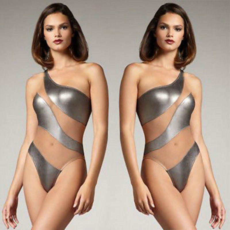 Skin bikini monokin