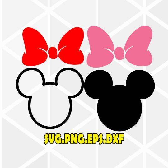 Minnie Head Svg Minnie Bow Svg Minnie Mouse Svg Minnie Svg Minnie Outline Head Cricut Svg File Disney Svg Svg File Cricut Minnie Mouse Silhouette Minnie Bow Minnie