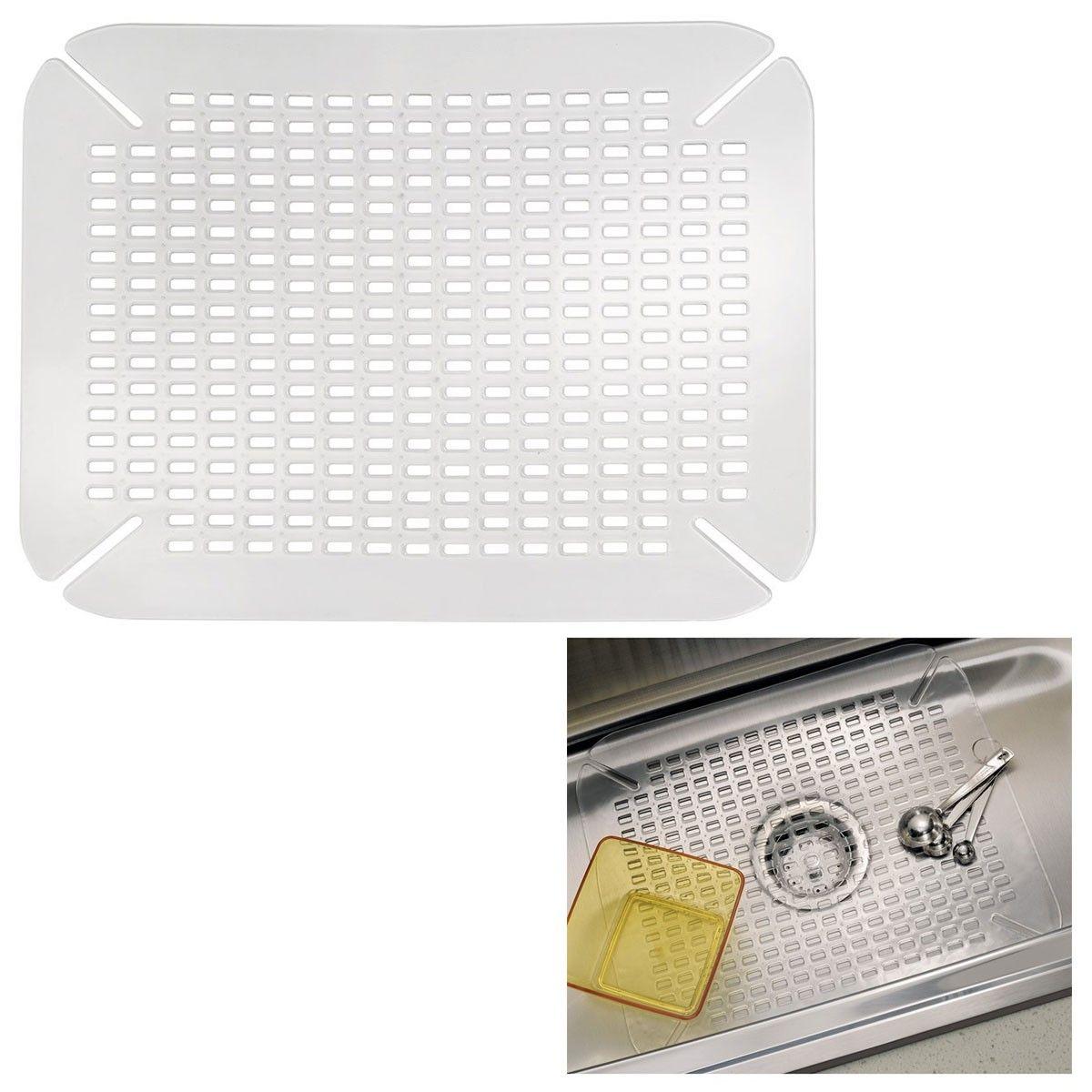 InterDesign 59060 Kitchen Sink Mat Adjustable Contour Size