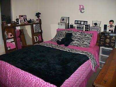 Cool zebra and pink cheetah