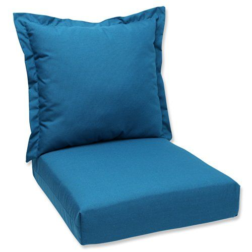 Includes One 1 Deep Seating Cushion With A Back Pillow Suitable For Indoor And Outdoor Use Plush Deep Seat Cushions Outdoor Furniture Cushions Deep Seating