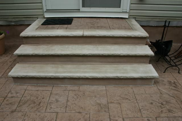 Best Stucco And Limestone Treads For Steps Masonry Steps With 400 x 300