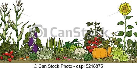 Garden Clipart And Stock Illustrations 236 079 Garden Vector Eps