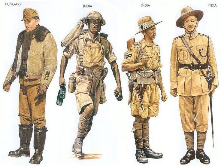 World War II Uniforms - Hungary - 1943 May, Southern USSR ...