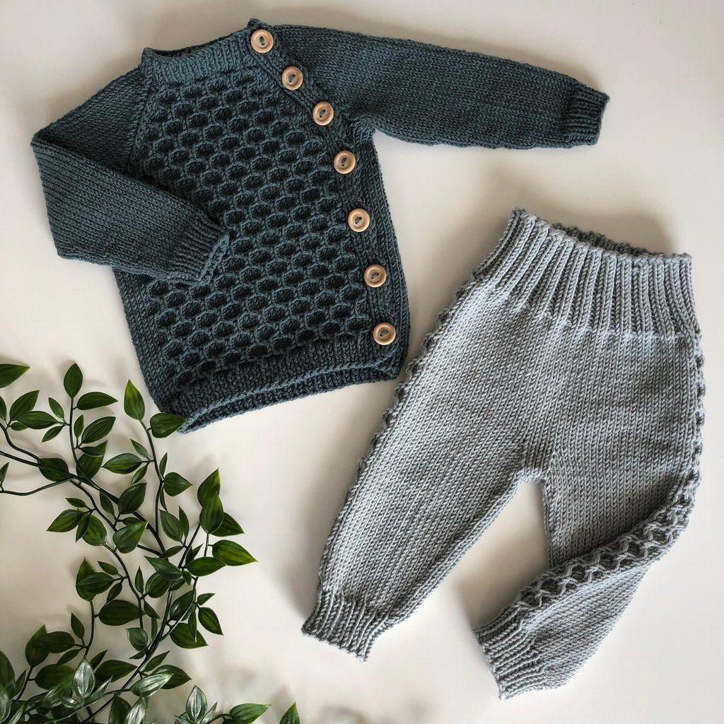 Photo of ASKUR & EMBLA meme knitting baby nordic