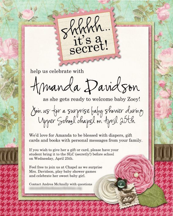 Baby Shower Surprise Invitations Wording To Inspire Your Decorative