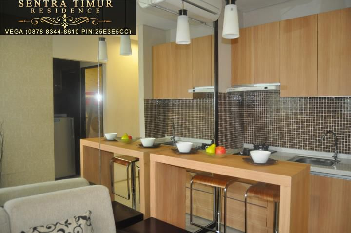Jual Apartemen Murah Jakarta Timur  Show Case Kitchen Set