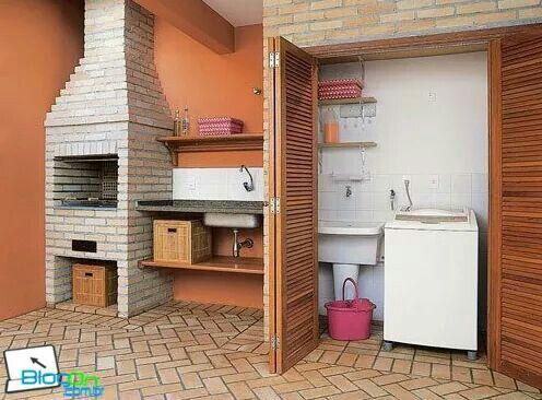 Pin de aparecida verdejo en casa pinterest lavaderos for Lavaderos en patios pequenos