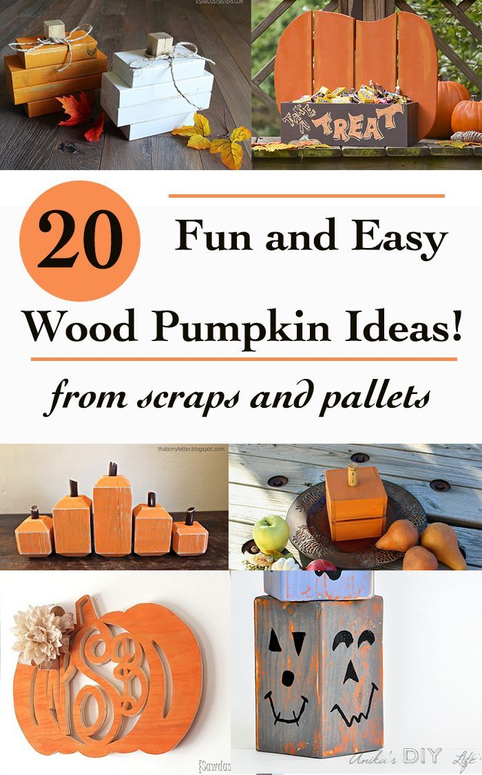 20 Fun Diy Wood Pumpkin Ideas For Fall Decoration Wood Pumpkins Wood Diy Fun Diys