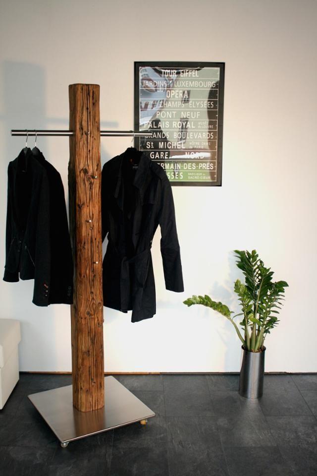 Willkommen Zu Hause Unsere Altholzgarderobe Sorg Fur Wohnlichkeit