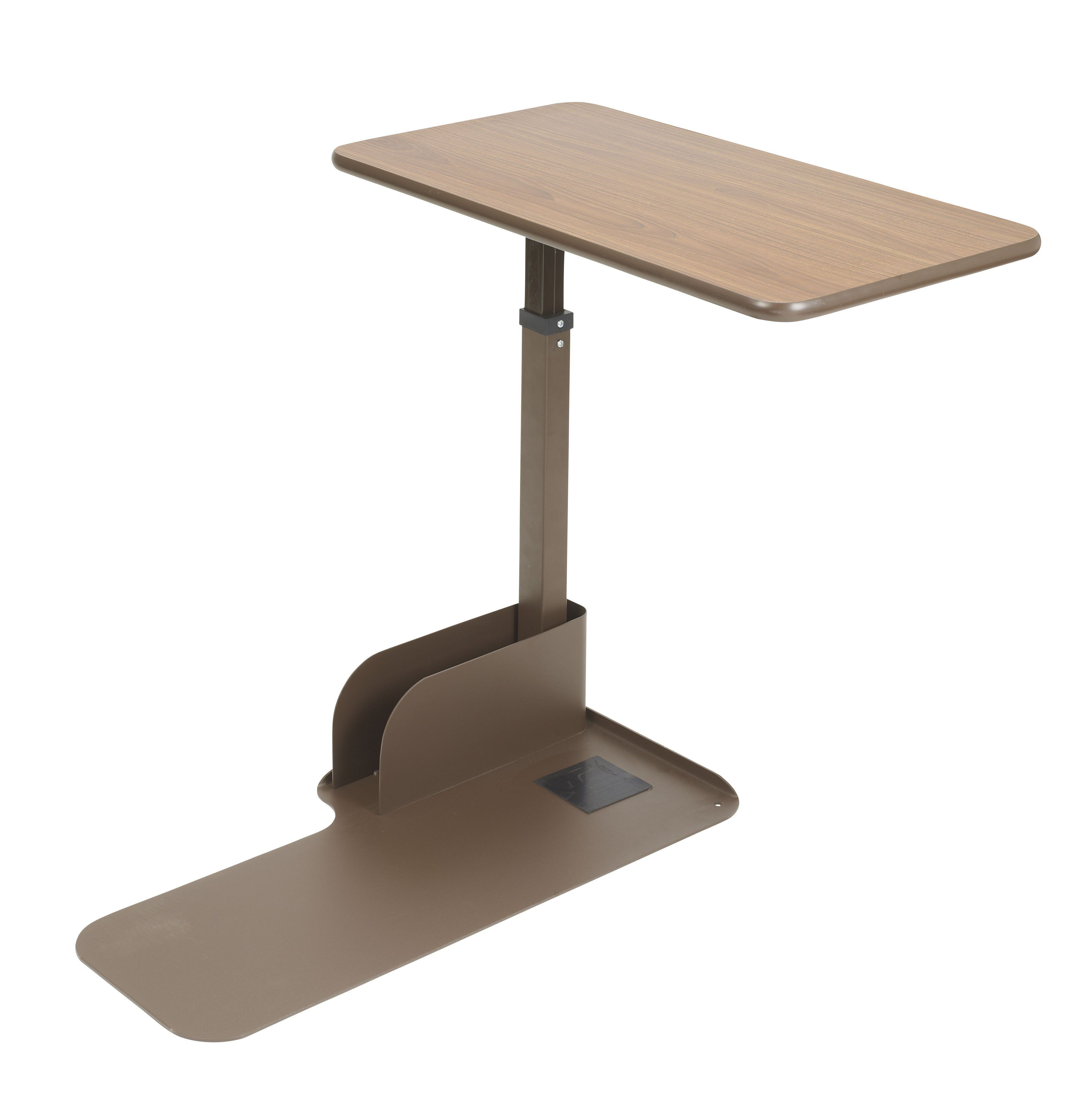 Drive 13085ln Seat Lift Chair Overbed Table, Left Side